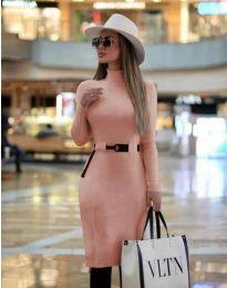 Φόρεμα - κώδ. 2932 - ροζ