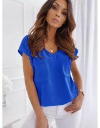 Κοντομάνικο μπλουζάκι - κώδ. 920 - μπλε