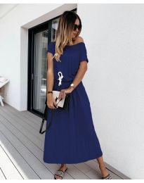 Φόρεμα - κώδ. 4151 - σκούρο μπλε