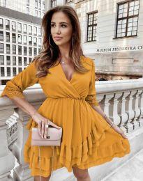 Φόρεμα - κώδ. 0545 - μουσταρδί
