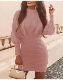 Φόρεμα - κώδ. 4016 - πούδρα