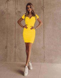 Φόρεμα - κώδ. 1842 - κίτρινο