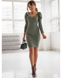 Φόρεμα - κώδ. 11548-χακί