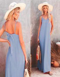 Φόρεμα - κώδ. 4673 - γαλάζιο