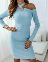 Φόρεμα - κώδ. 0984 - 4 - γαλάζιο