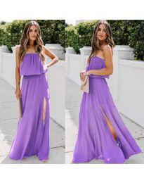 Φόρεμα - κώδ. 061 - μωβ