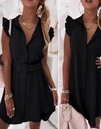 Φόρεμα - κώδ. 7411 - μαύρο