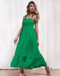 Φόρεμα - κώδ. 1729 - πράσινο