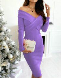 Φόρεμα - κώδ. 6130 - 11 - μωβ