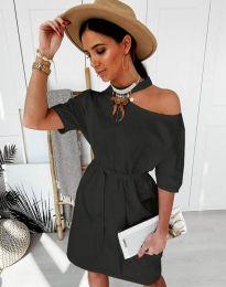 Φόρεμα - κώδ. 5848 - 1 - μαύρο