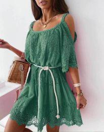 Φόρεμα - κώδ. 6954 - πράσινο
