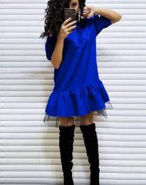 Φόρεμα - κώδ. 2856 - μπλε