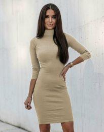 Φόρεμα - κώδ. 3491 - μπεζ