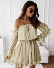 Φόρεμα - κώδ. 0223 -  σαμπανιζέ