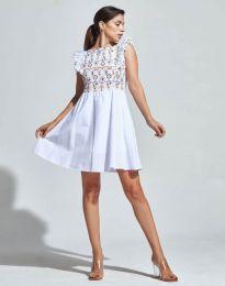 Φόρεμα - κώδ. 1482 - 5 - λευκό