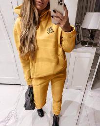 Αθλητικό σετ - κώδ. 4221 - κίτρινο