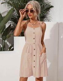 Φόρεμα - κώδ. 6271 - μπεζ