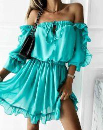 Φόρεμα - κώδ. 0223 - τυρκουάζ