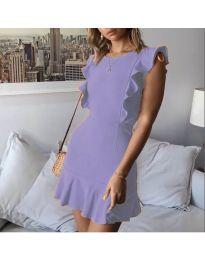 Φόρεμα - κώδ. 548 - μωβ
