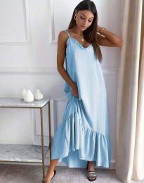 Φόρεμα - κώδ. 4671 - γαλάζιο