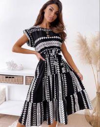 Φόρεμα - κώδ. 2660 - μαύρο