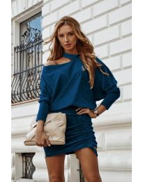 Φόρεμα - κώδ. 8987 - τυρκουάζ
