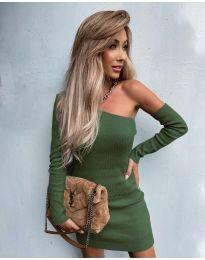 Φόρεμα - κώδ. 4933 - λαδί