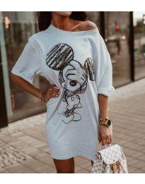 Φόρεμα - κώδ. 3352 - γκρι