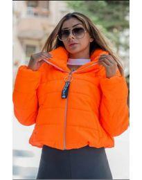 Μπουφάν - κώδ. 9161 - 6 - πορτοκαλί