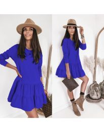 Φόρεμα - κώδ. 8486 - μπλε