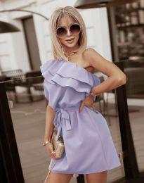 Φόρεμα - κώδ. 7100 - ανοιχτό μωβ
