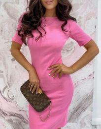 Φόρεμα - κώδ. 44477 - ροζ