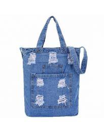 Τσάντα - κώδ. B580 - γαλάζιο