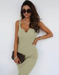 Φόρεμα - κώδ. 10033 - πράσινο