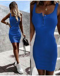 Φόρεμα - κώδ. 9458 - μπλε