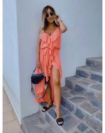Φόρεμα - κώδ. 0081 - πορτοκαλί