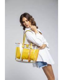 Τσάντα - κώδ. LS542 - κίτρινο