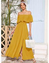 Φόρεμα - κώδ. 698 - μουσταρδί
