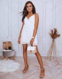 Φόρεμα - κώδ. 0890 - 2 - λευκό