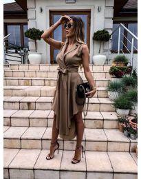 Φόρεμα - κώδ. 0020 - καφέ