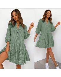 Φόρεμα - κώδ. 965 - πράσινο