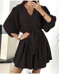 Φόρεμα - κώδ. 6210 - μαύρο