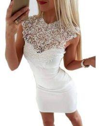 Φόρεμα - κώδ. 2546 - λευκό