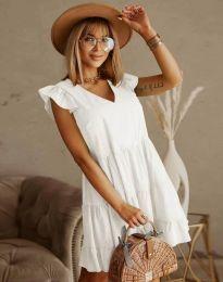 Φόρεμα - κώδ. 6224 - λευκό