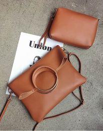 Τσάντα - κώδ. B292 - καφέ