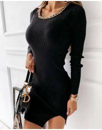 Φόρεμα - κώδ. 4545 - μαύρο