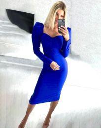 Φόρεμα - κώδ. 3865 - μπλε