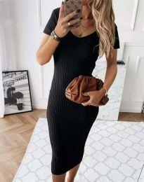 Φόρεμα - κώδ. 0714 - 2 - μαύρο