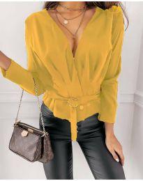 Μπλούζα - κώδ. 5525 - κίτρινο