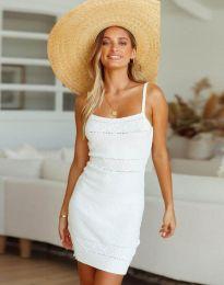 Φόρεμα - κώδ. 10099 - λευκό